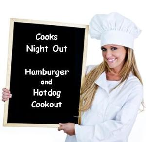 Cooks Night Out Hamburgers