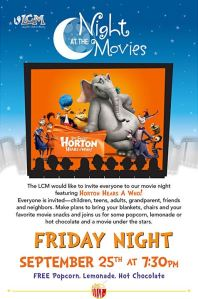 LCM Movie NIght September 2015