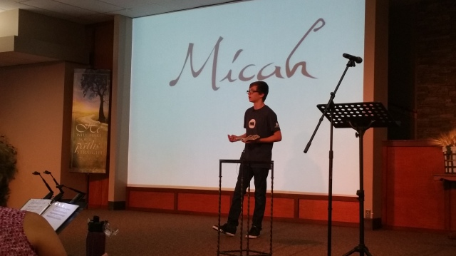 Malachi Brown preaching