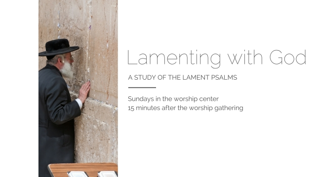 Lamenting With God announcement (2)