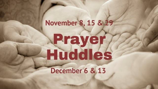 Prayer Huddles jpg