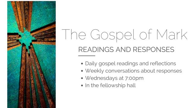 The Gospel of Mark (2)