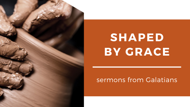 Shaped By Grace series title