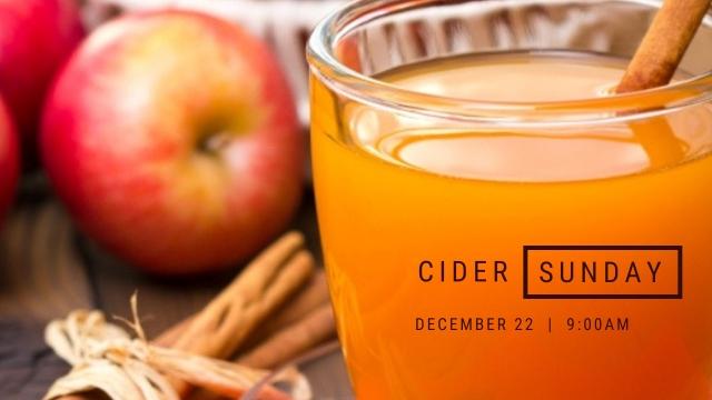 Cider Sunday 2019